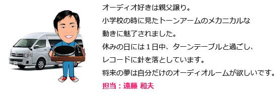 担当:遠藤 和夫